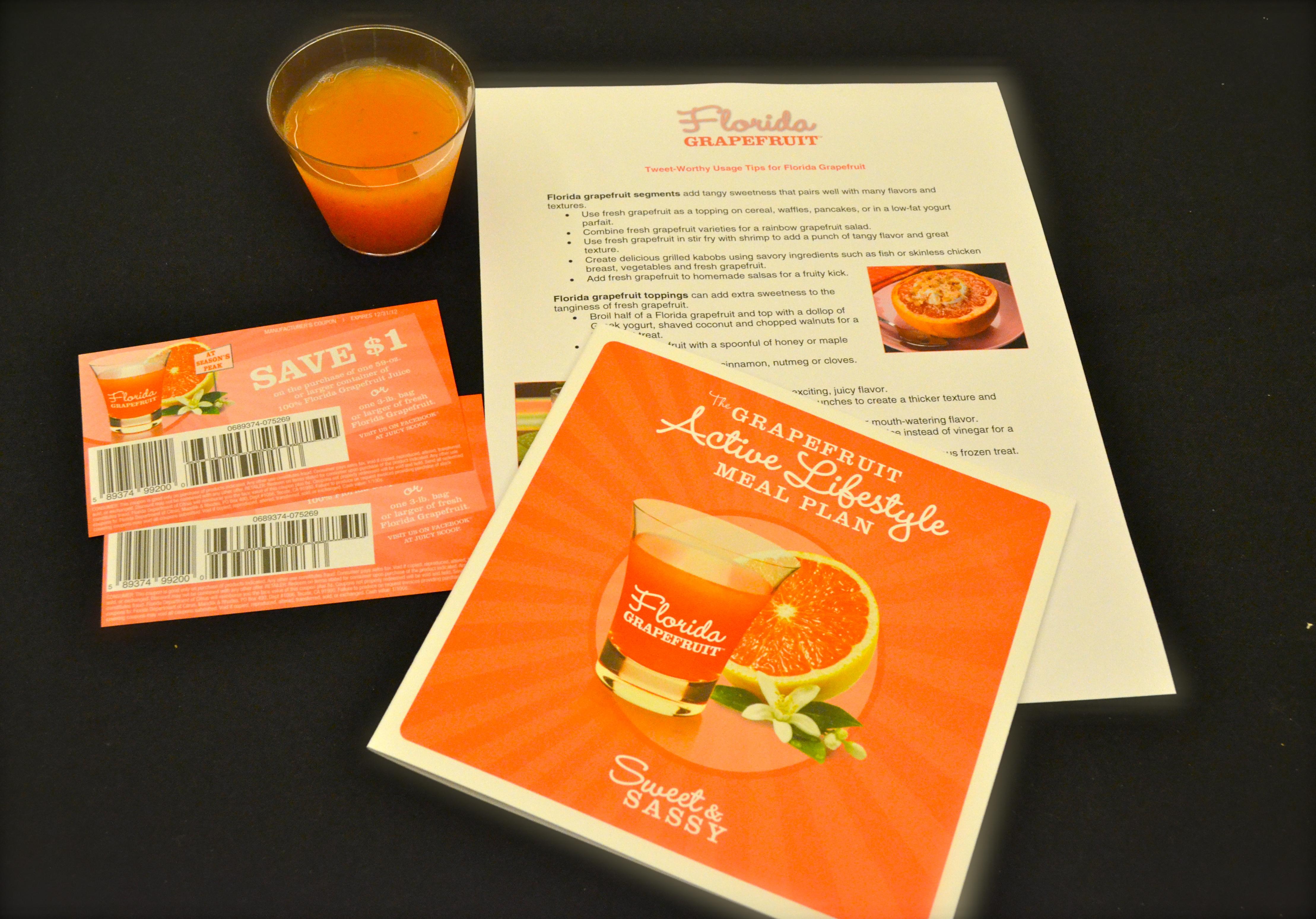 Florida Grapefruit FitBloggin'12