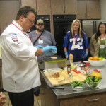Preparing Spices4Health recipes at McCormick