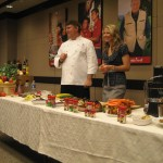 Chef Mark and Dr. Wendy describe the virtues of veggies