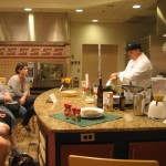 Demoing restaurant-quality meals for the home cook