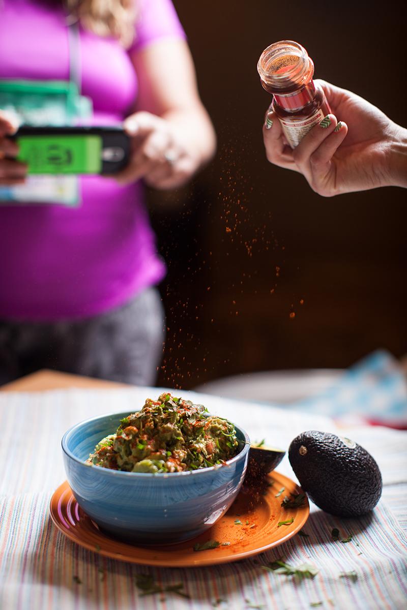 guacamole paprika fitbloggin koskie